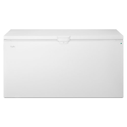 66-inch W 22 cu. ft. Chest Freezer with Extra-Large Capacity in White