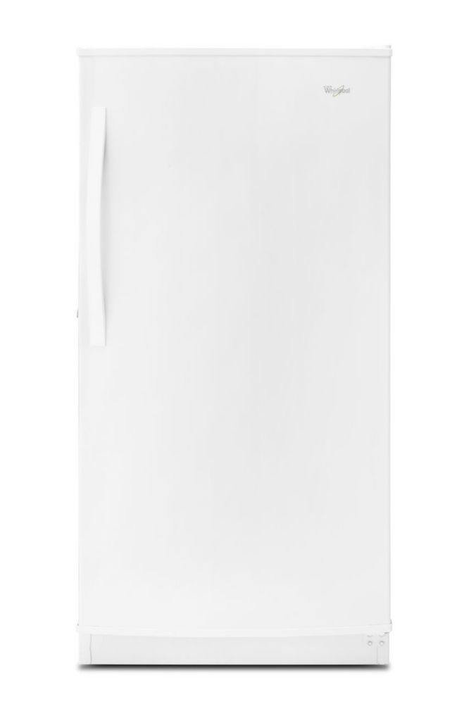 15.7 cu. ft.Upright Freezer with Frost-Free Defrost in White