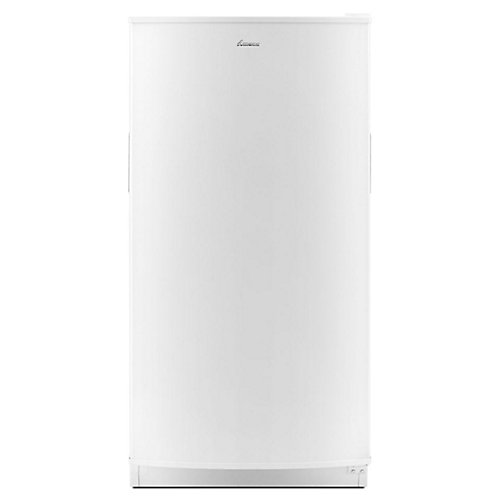 30-inch W 18 cu. ft. Upright Freezer in White