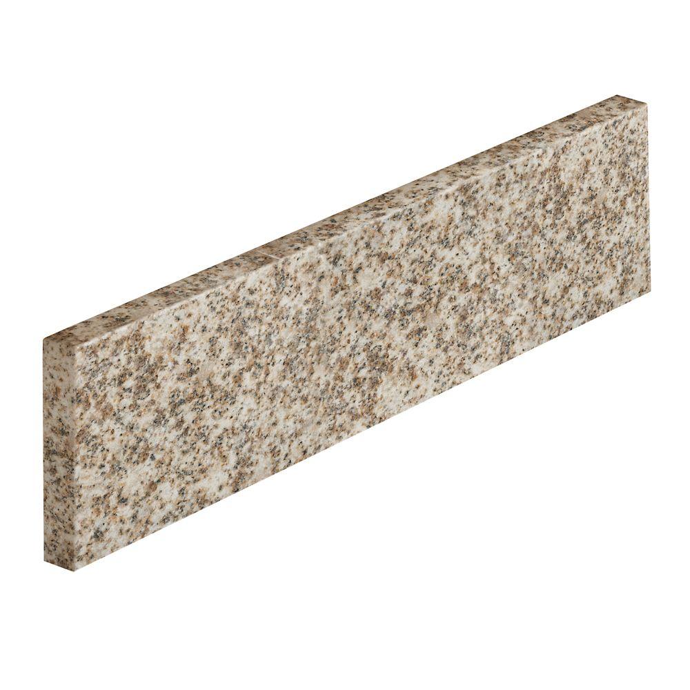 Dosseret latéral de 45,7 cm (18 po) en granit Golden Hill