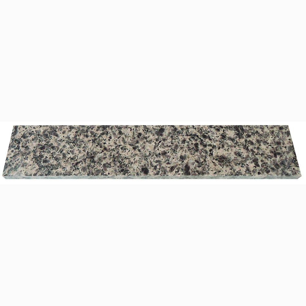 Dosseret latéral de 45,7 cm (18 po) en granit Sircolo