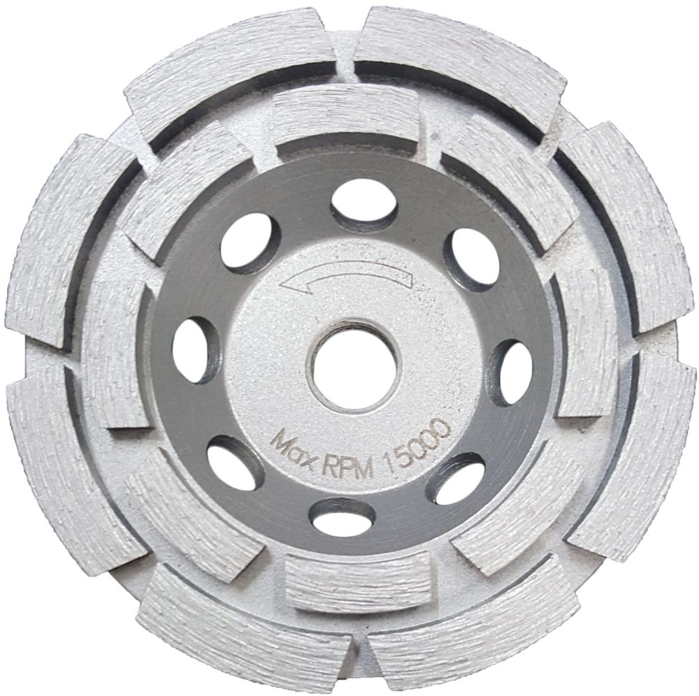 4 Inch Double Row Cup Wheel