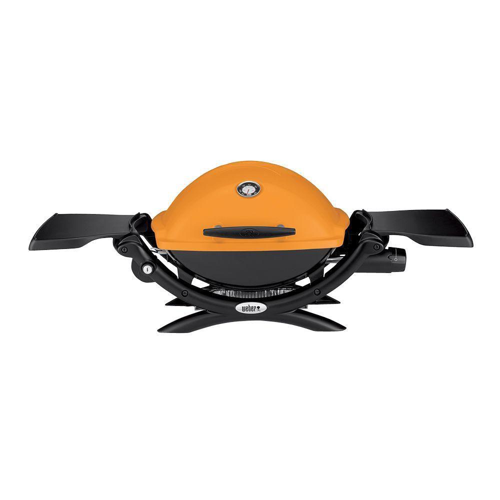 Q 1200 Gas BBQ LP in Orange