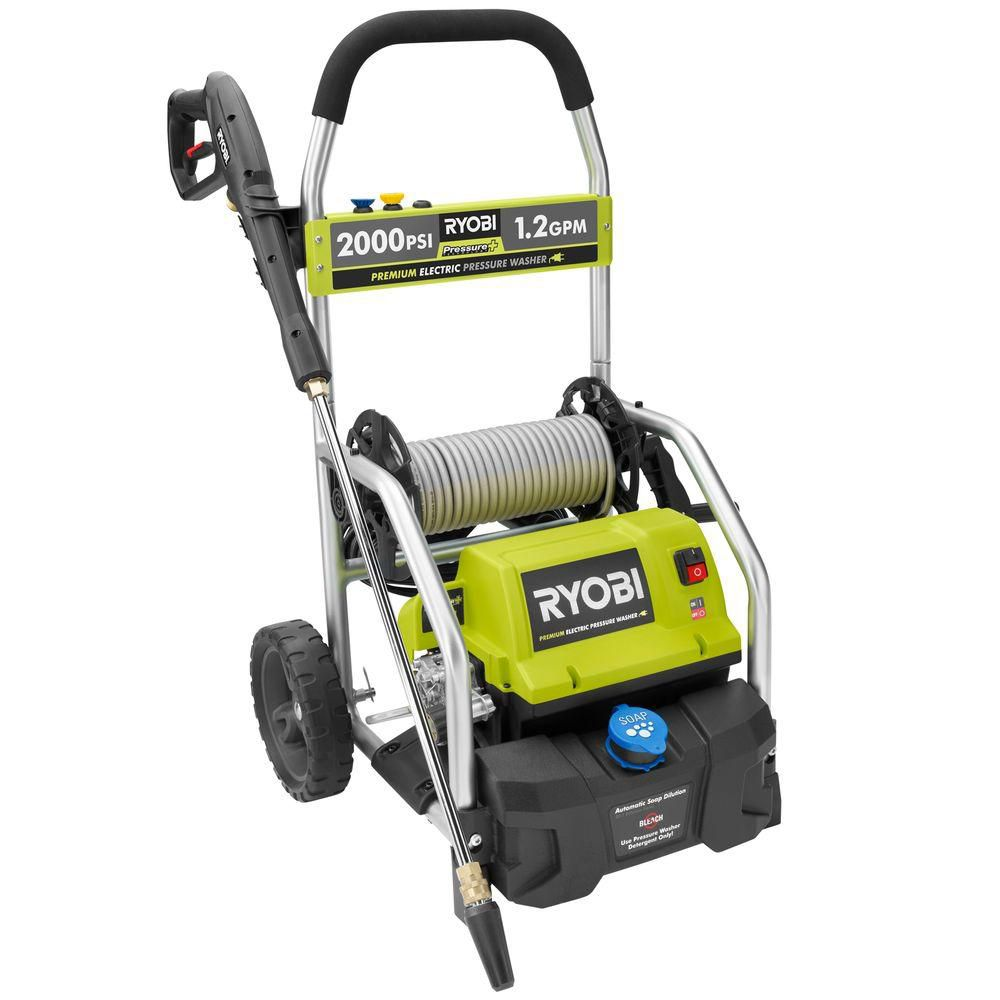 2000-PSI 1.2 GPM Electric Pressure Washer