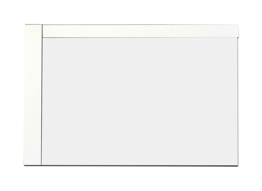 32 In. W x 24 In. H Modern Plywood-Melamine Wood Mirror In White Finish AI-9999-656 in Canada