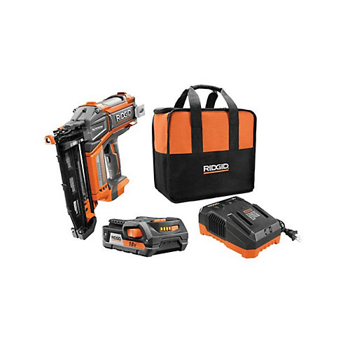 HYPERDRIVE 18V Brushless Cordless 16-Gauge 2-1/2-Inch Straight Nailer