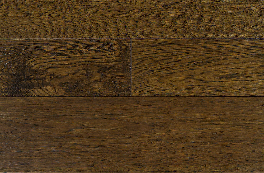 Sepia Hickory Varying W & Length Engineered Hardwood Flooring (37.4 sq. ft. / case)