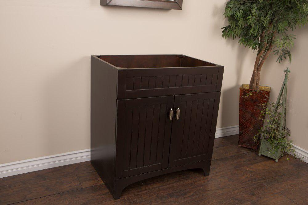 Bellaterra meuble lavabo noyer et sable de 32 po meuble for Lavabo et meuble