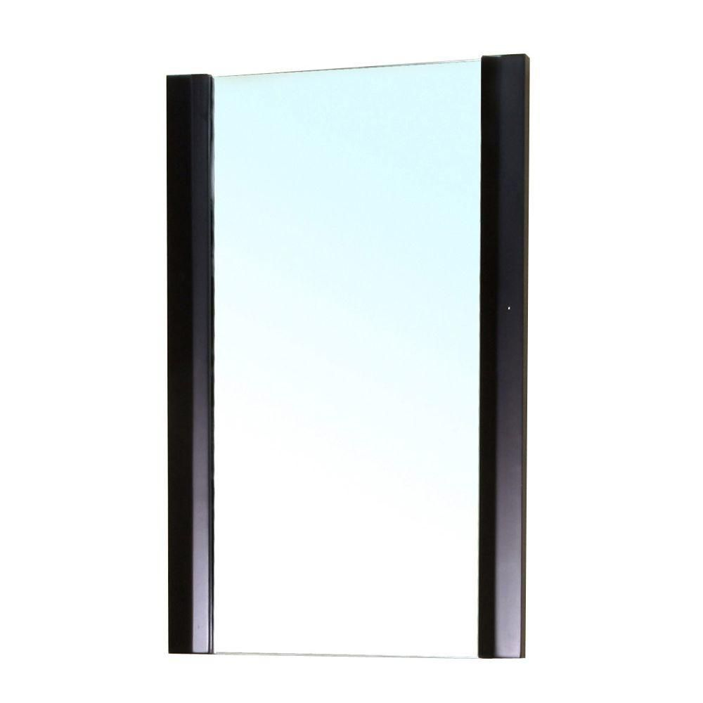 32 inch w x 24 inch h solid plywood mirror finished with for Inexpensive framed mirrors