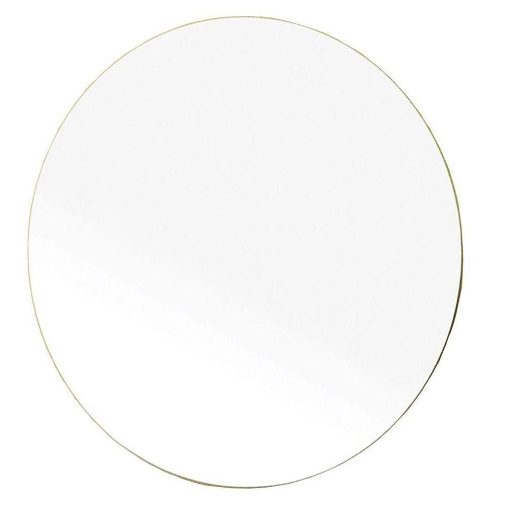 Andorra 23 In. L X 23 In. W Wall Round Mirror