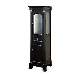 Bellaterra Bloomfield 18 In. Linen Cabinet in Espresso