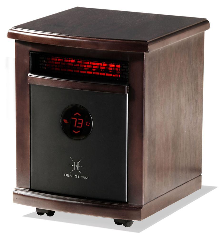 Heat Storm Logan Portable Infrared Quartz Heater | The Home Depot