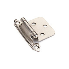 Hinges Self-Closing Brushed Nickel (60-Pack)