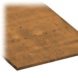 MicroPro Sienna 3/4 In.- 4 Ft. x 8 Ft. Pressure Treated Plywood