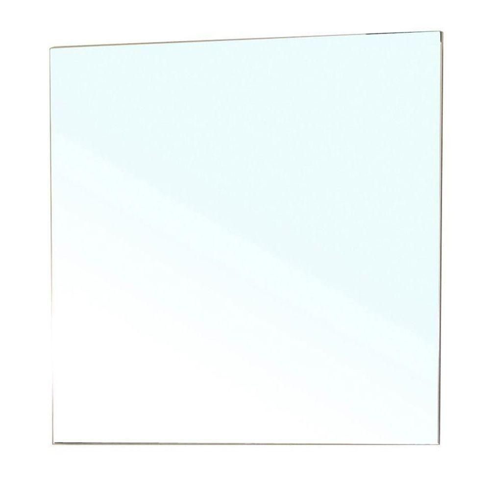 Summerlin 28 In. L X 29 In. W Solid Wood Frame Beveled Wall Mirror