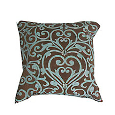 Conversation Chair Toss Cushion in Geometric Pattern