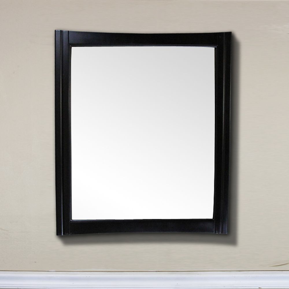 32 In. Wood Frame Mirror