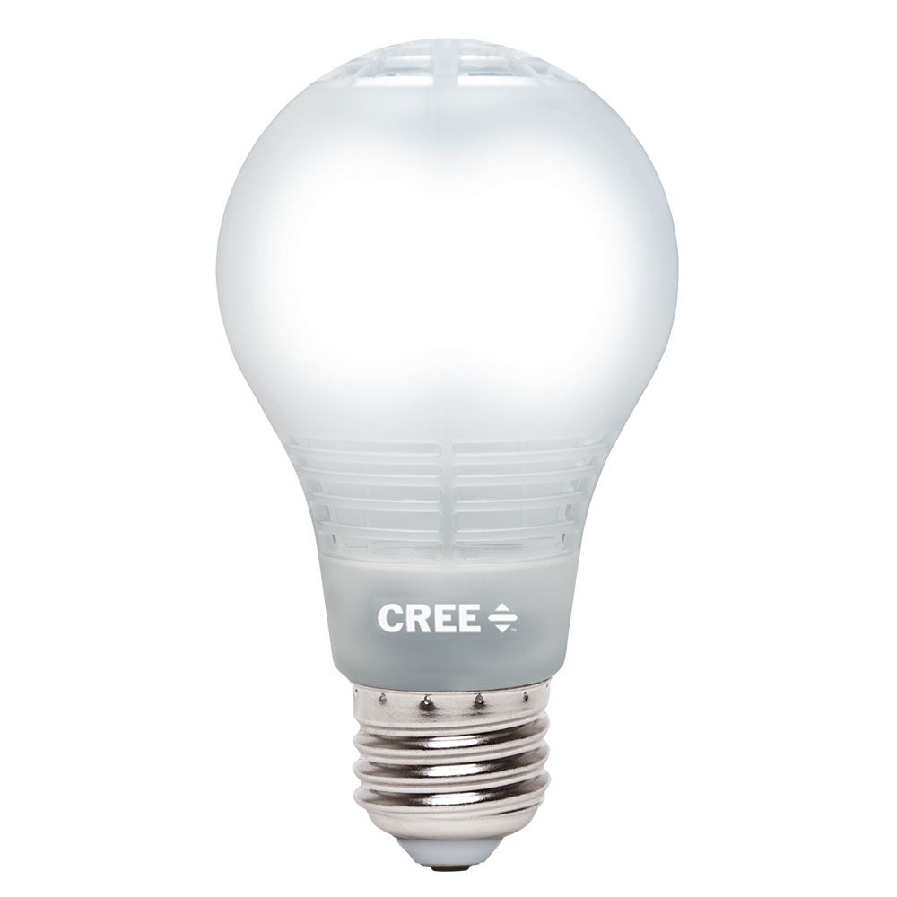 Cree 60W Equivalent Daylight (5000K) A19 Dimmable LED Light Bulb with 4Flow Filament Design BA19-08050OMF-12DE26-3M200 in Canada