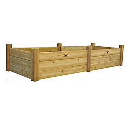 Gronomics 34-inch x 95-inch x 19-inch Raised Garden Bed