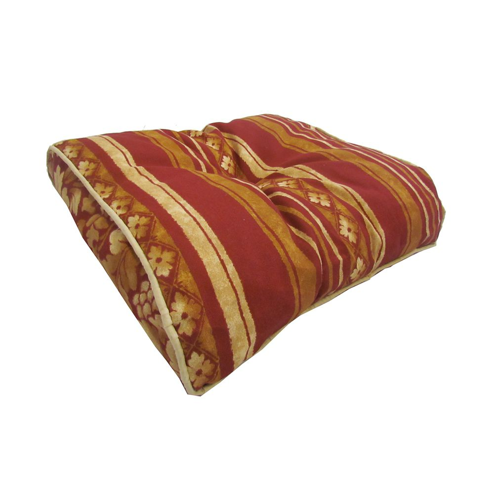 Bozanto Inc. Outdoor Seat Cushion with Multi Color Stripes