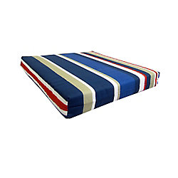 Bozanto Inc. Striped Replacement Seat Cushion in Multi Color