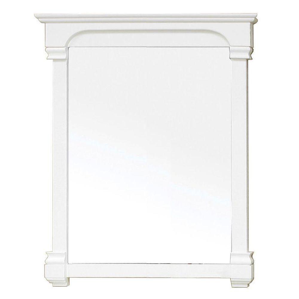 Westwind Miroir en bois blanc de 36 po