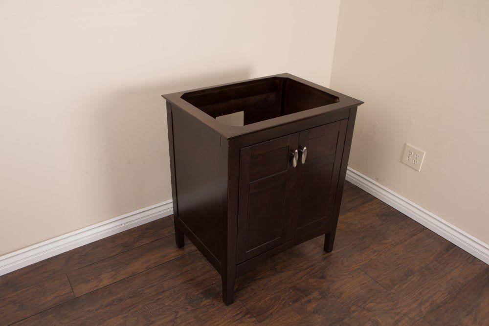 29-Inch  Vanity Cabinet in Sable Walnut