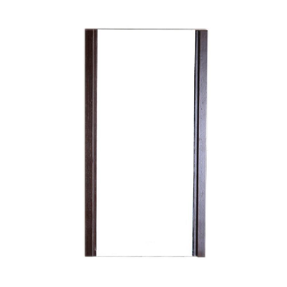 17.7 In. Wood Frame Mirror