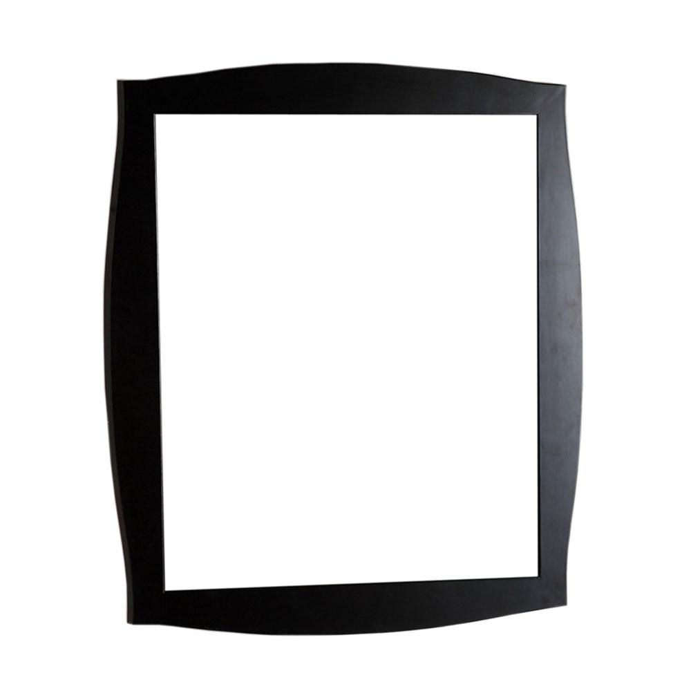 36 In. Wood Frame Mirror
