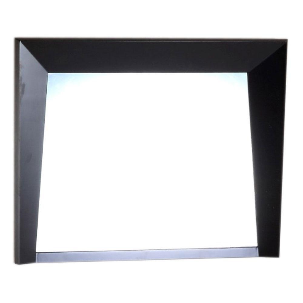 Miroir en bois de 36 po