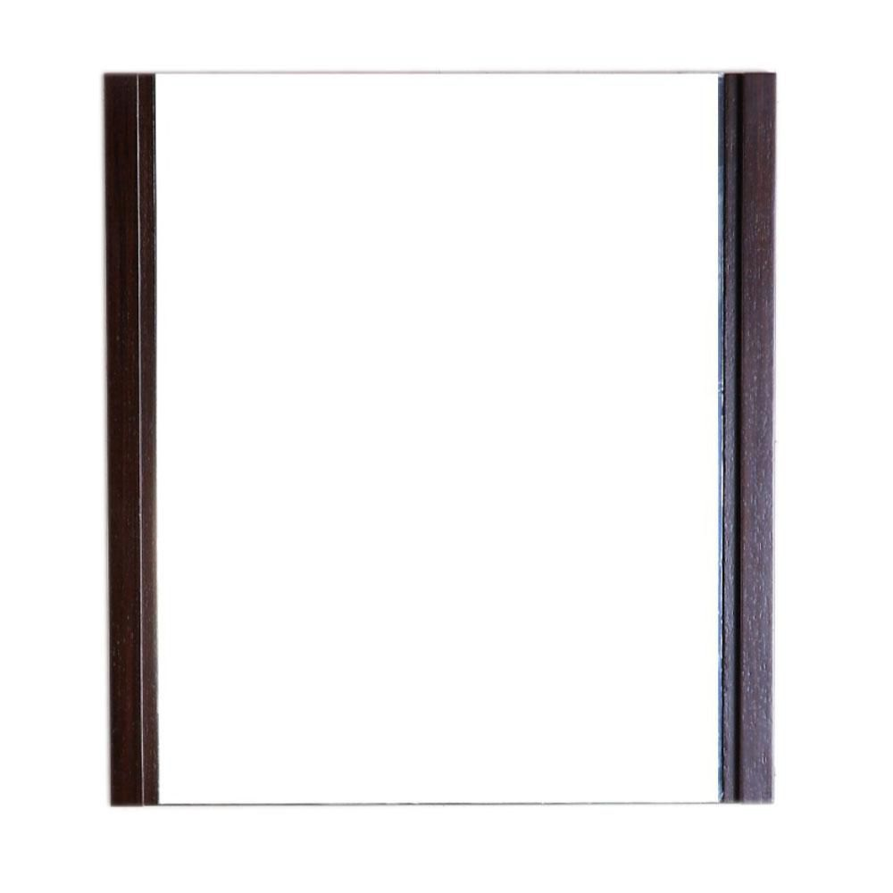 24 In. Wood Frame Mirror