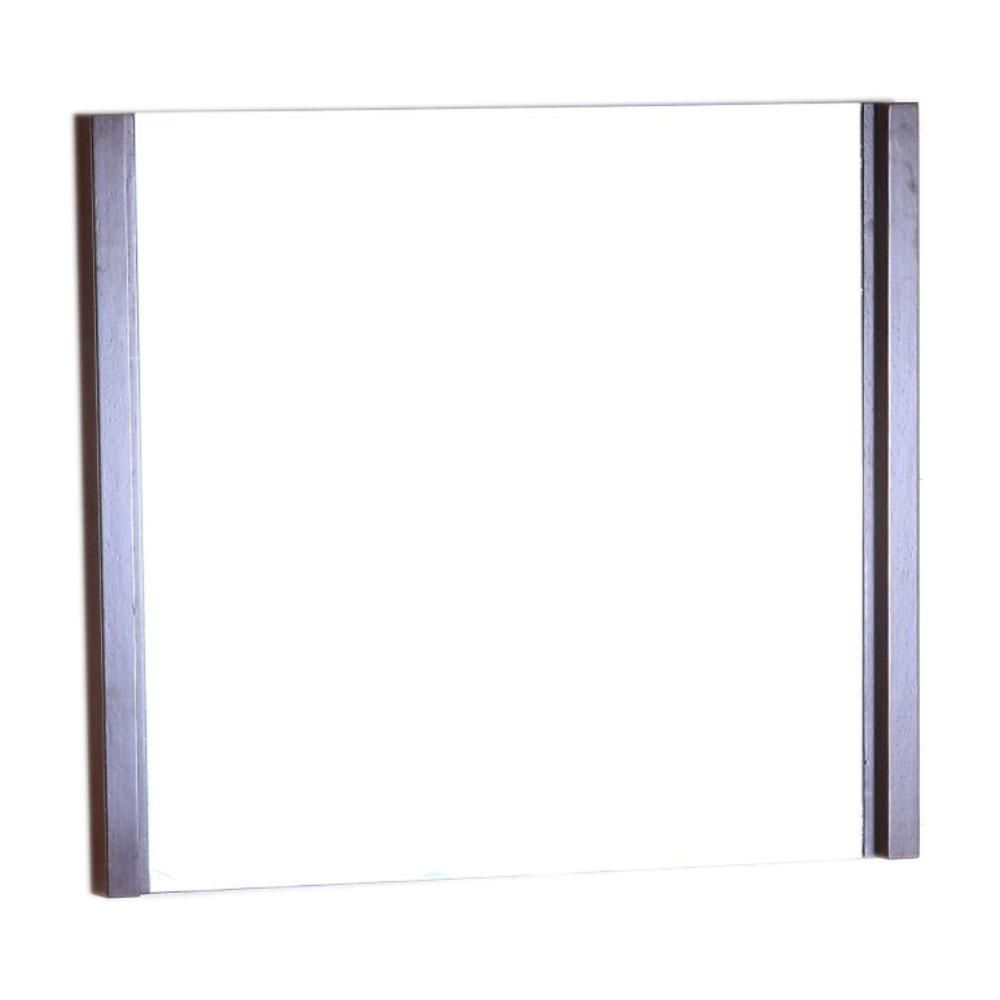 24 in wood frame mirror 502001a mir 24 canada discount for Inexpensive framed mirrors