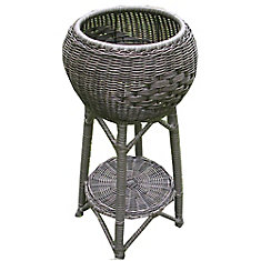Wicker PVC Planter