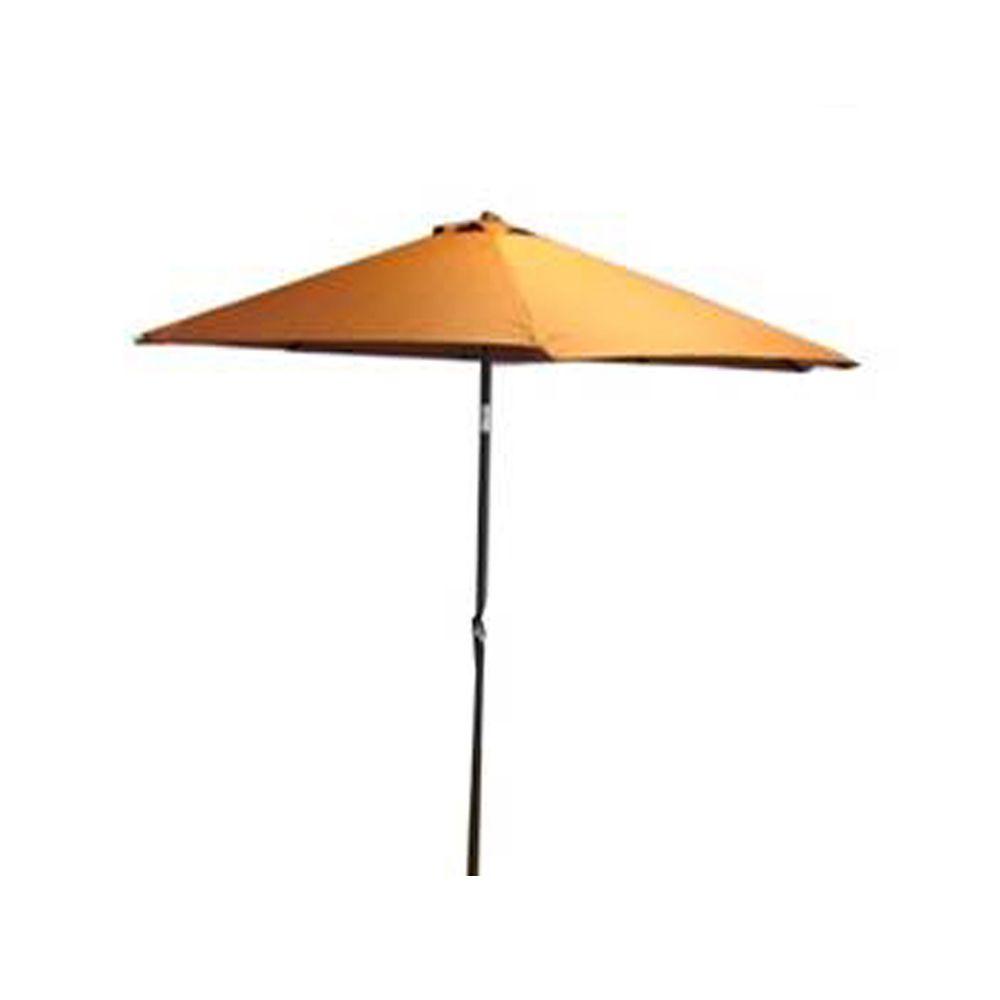 henryka parasol de marche de 9 pied terracotta home. Black Bedroom Furniture Sets. Home Design Ideas