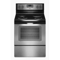 Whirlpool 4.8 cu. ft. Electric Range with Self-Cleaning Oven in Stainless Steel