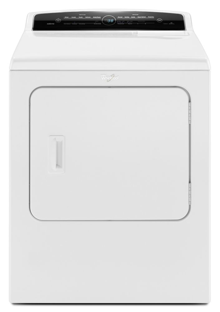 Cabrio<sup>®</sup> 7.0 cu. ft. High-Efficiency Electric Steam Dryer in White