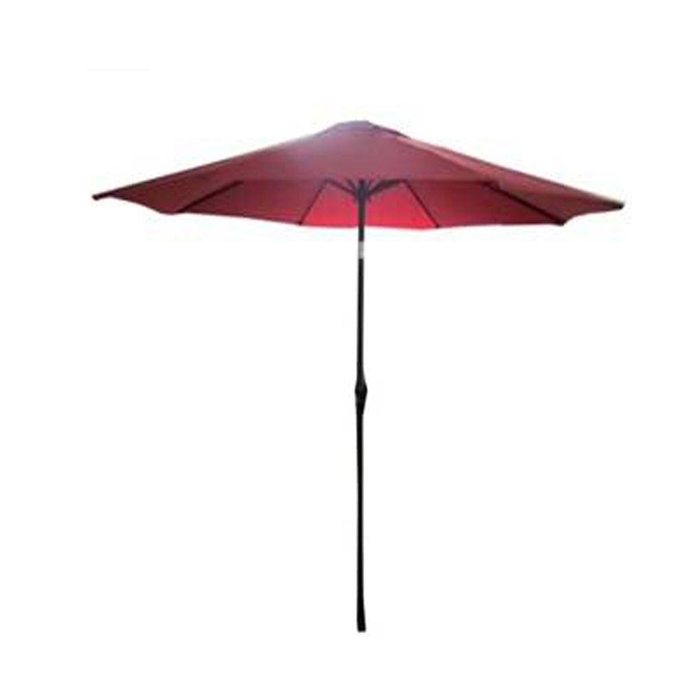 patio umbrellas accessories the home depot canada. Black Bedroom Furniture Sets. Home Design Ideas