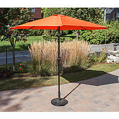 9 ft. Market Umbrella in Orange