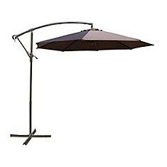 10 ft. Patio Umbrella in Chocolate