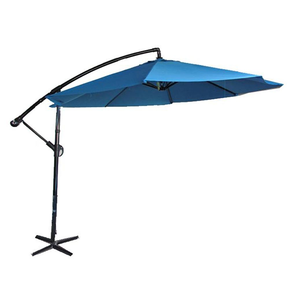 Henryka 10 Ft Cantilever Umbrella In Blue The Home