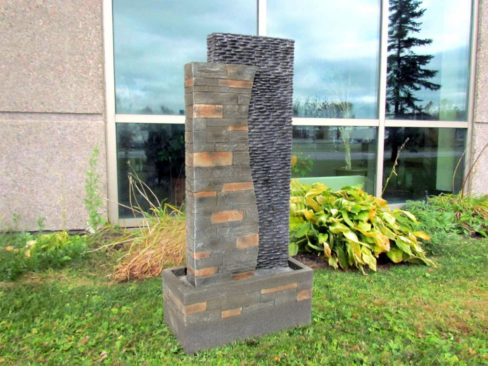 Henryka Polyresin 22-inch Outdoor Fountain