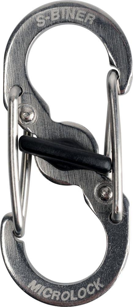 Nite Ize S-Biner Microlock 2pk Stainless