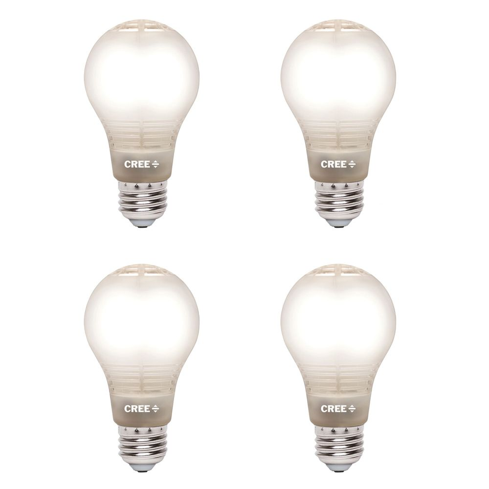 Cree 60w Equivalent Soft White 2700k A19 Dimmable Led Light Bulb With 4flow Filament Design