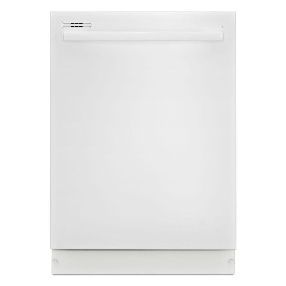 24-inch Tall Tub Dishwasher with Fully-Integrated Console and LED Display in White