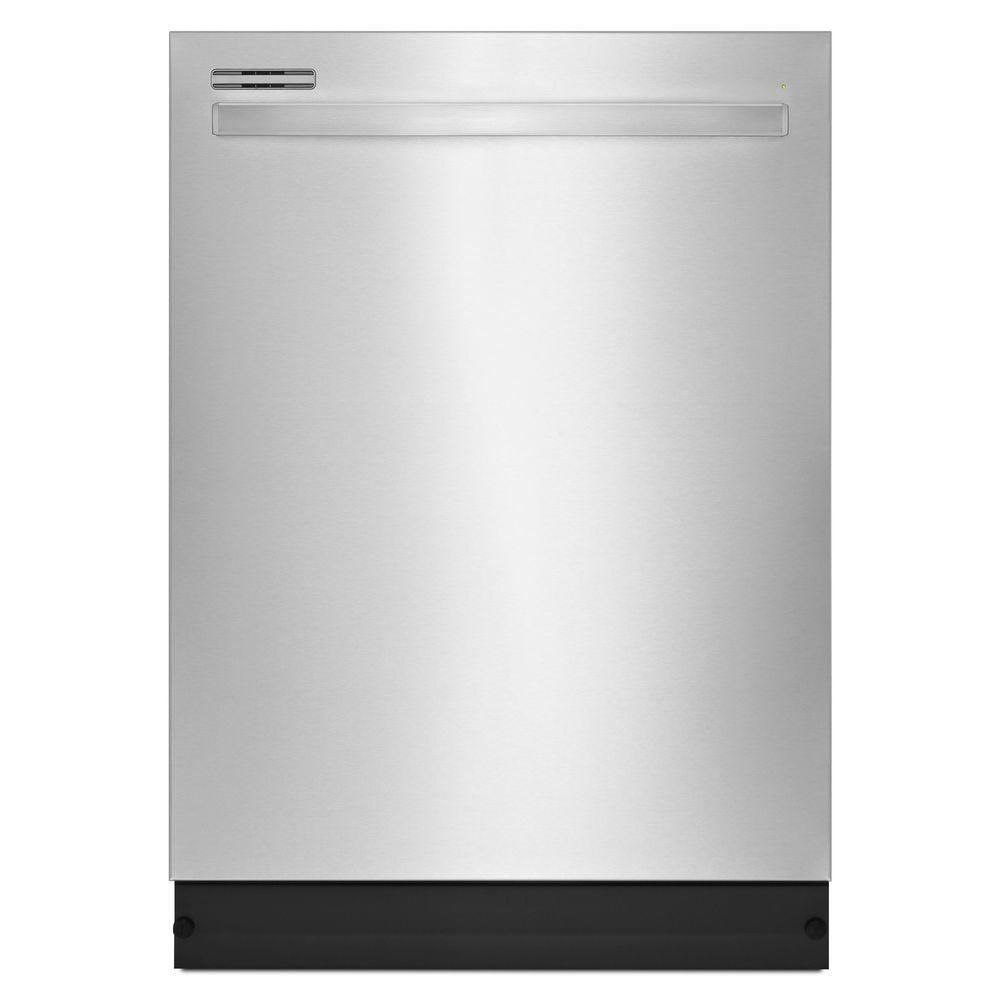 24-inch Tall Tub Dishwasher with Fully-Integrated Console and LED Display in Stainless Steel