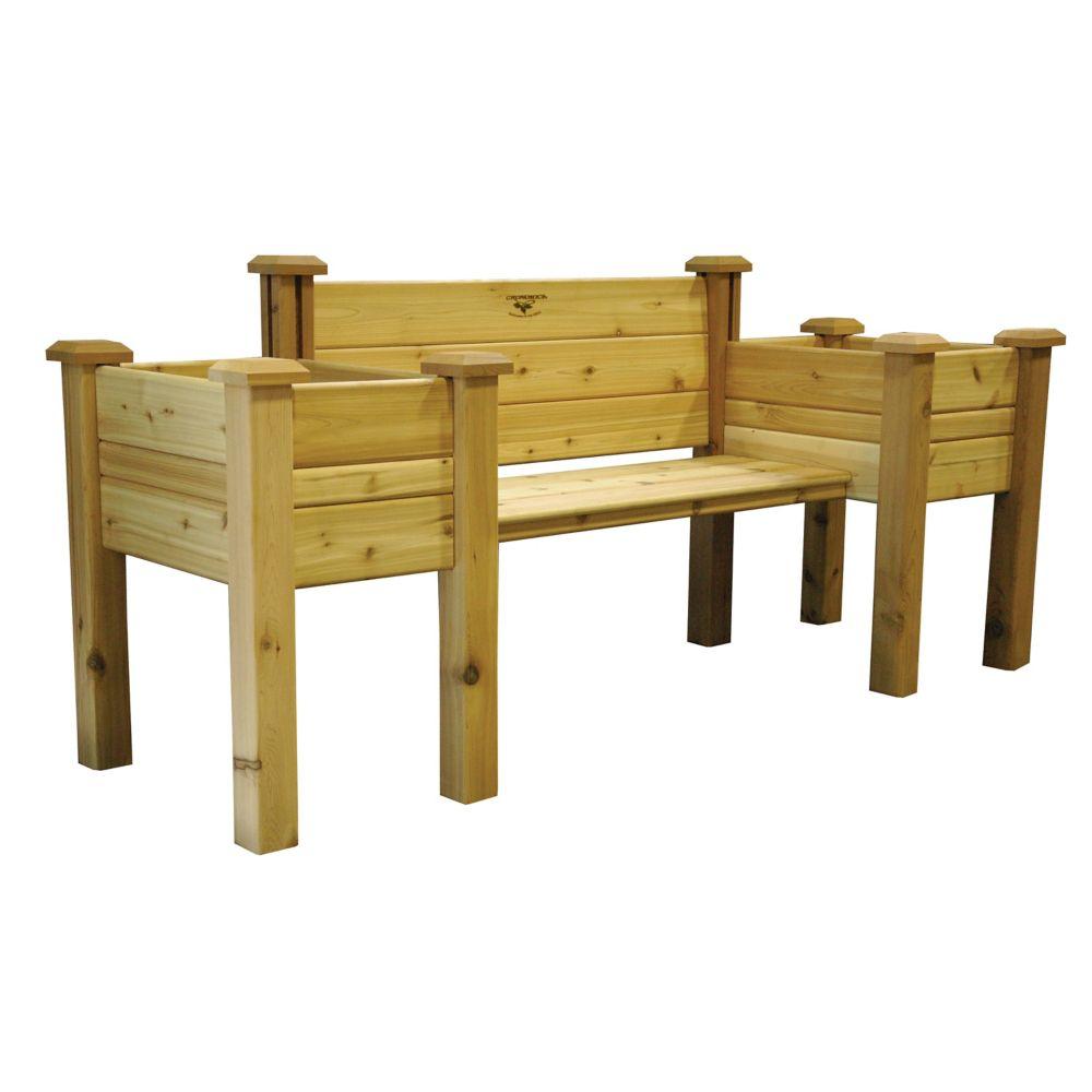 Planter Bench 24x82x36 EPB 24-82 Canada Discount