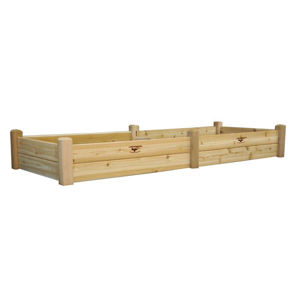 Gronomics Raised Garden Bed 34x95x13 The Home Depot Canada