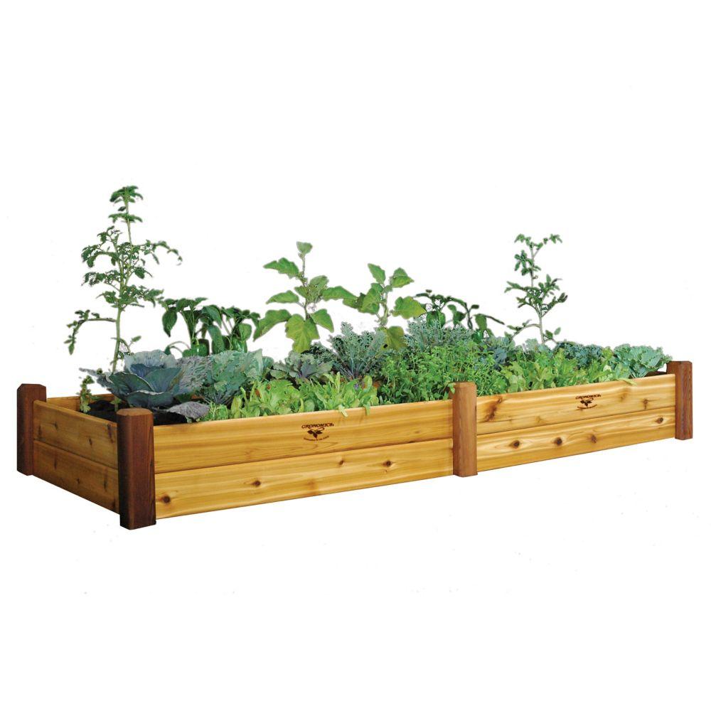 Raised Garden Bed 34x95x13 Safe Finish
