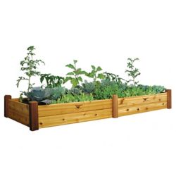 Gronomics 34-inch x 95-inch x 13-inch Raised Garden Bed with Food Safe Finish