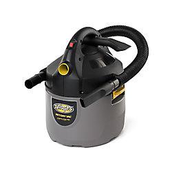 Aspirateur sec/humide portatif compact 7,5 litres (2 gal)